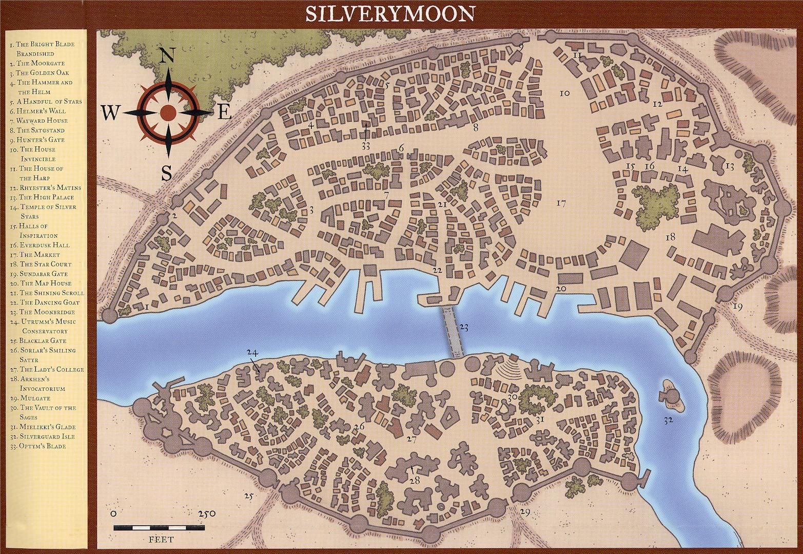 Silverymoon - Dungeons & Dragons